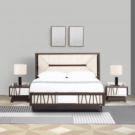 ANDRIANA QUEEN SIZE HYDRAULIC STORAGE BED